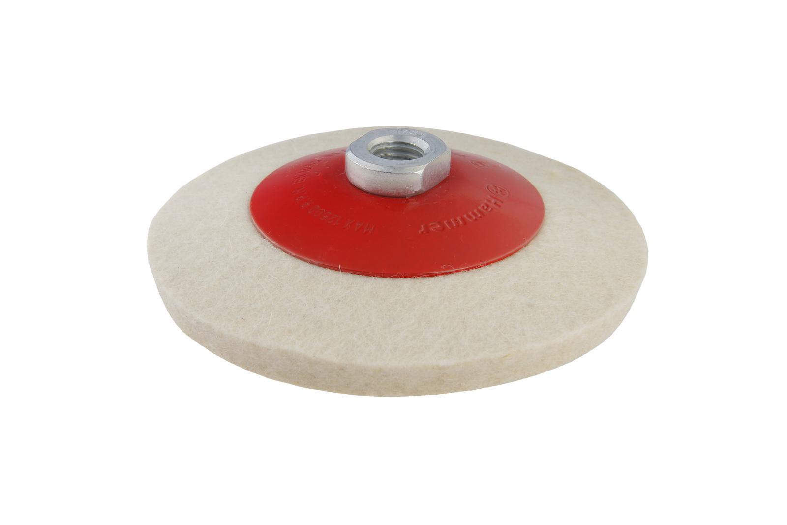 Круг полировальный Hammer 115 мм (227-023) 1 шт.