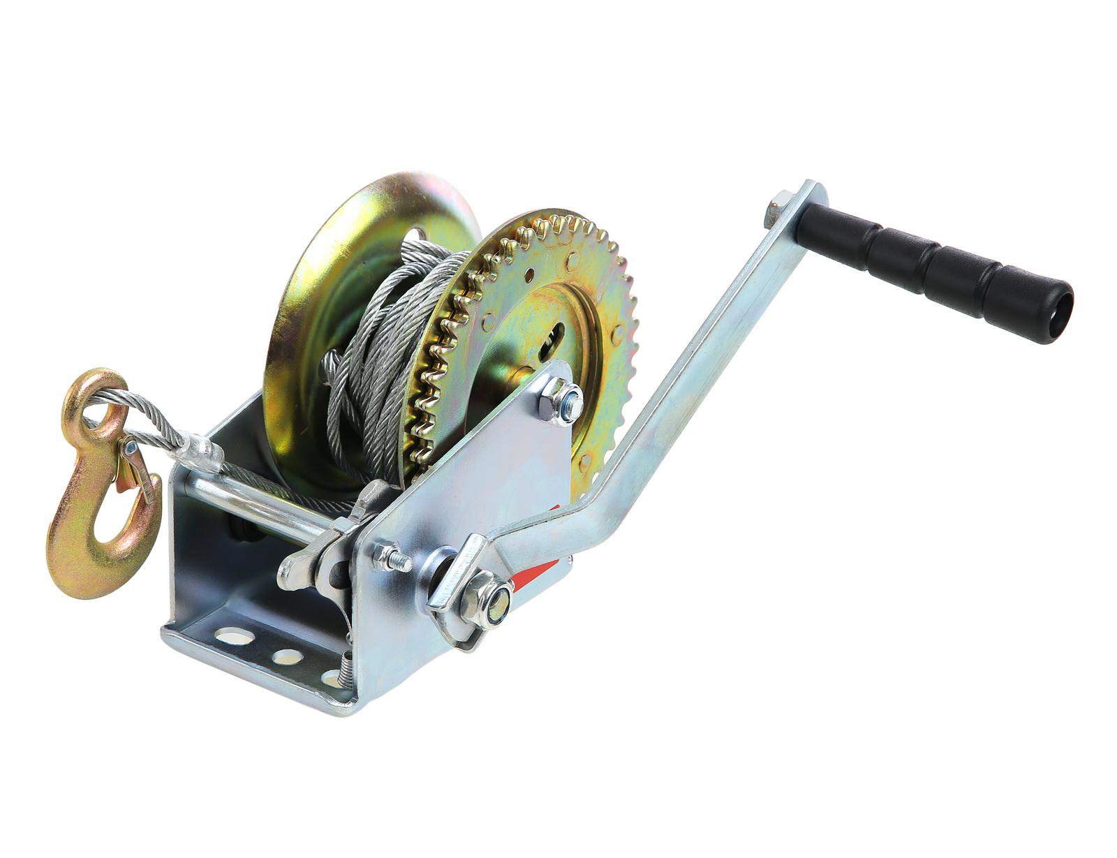 Лебедка механическая Skrab 26450 Лебедка катушка лебедка skrab 26439