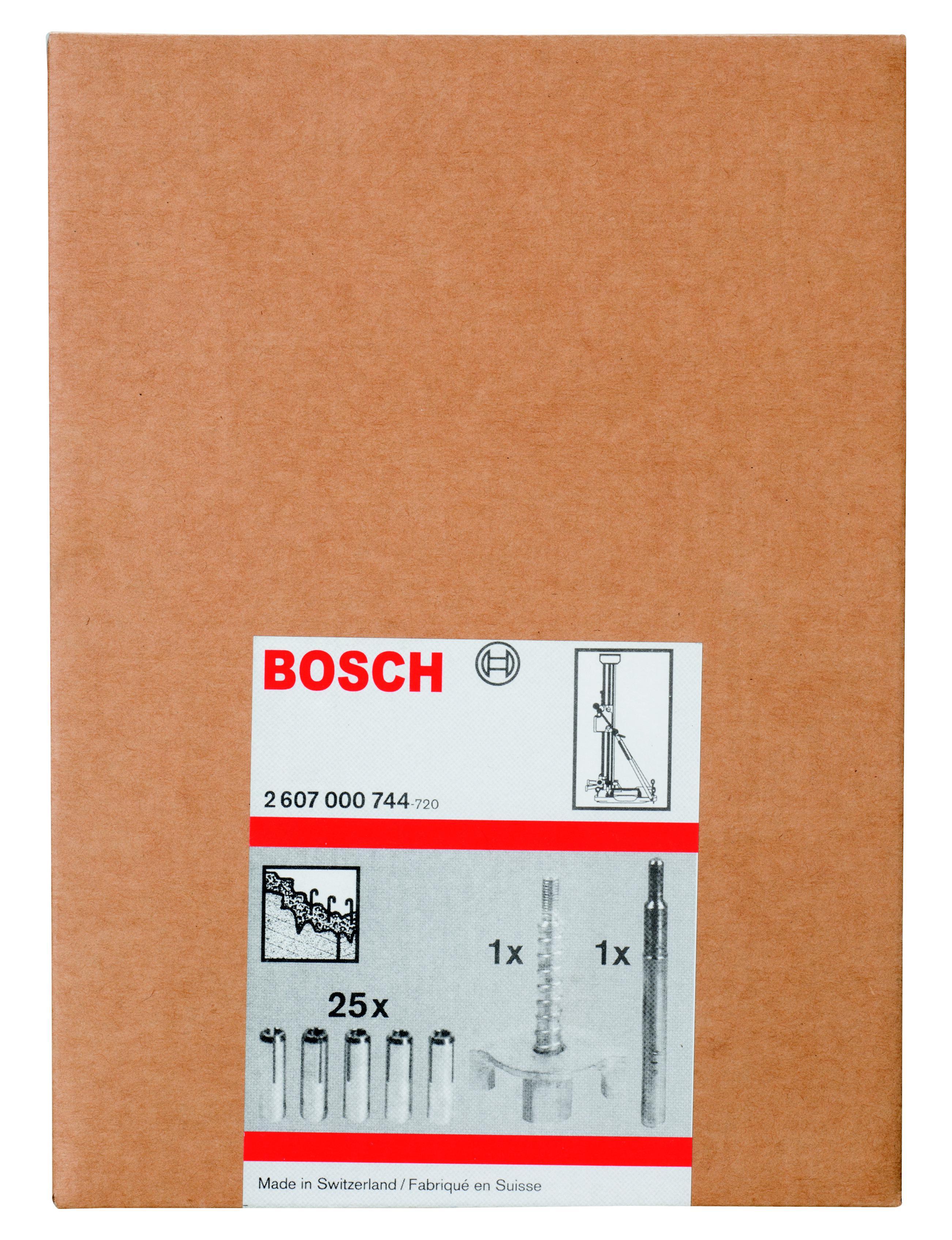 Набор крепежный по бетону Bosch крепежный для gdb (по бетону)(2.607.000.744) сверло по бетону bosch 6х150 мм