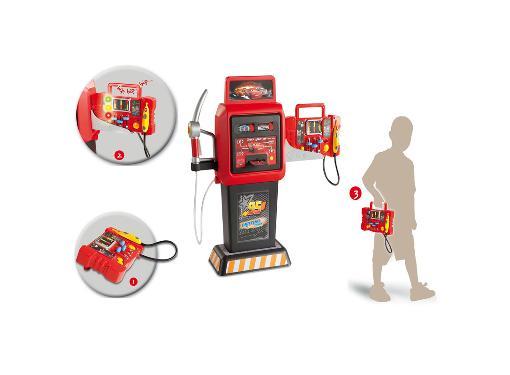Игрушка детская SMOBY автотехцентр-мастерская для диагностики автомобилей серии ''Тачки''