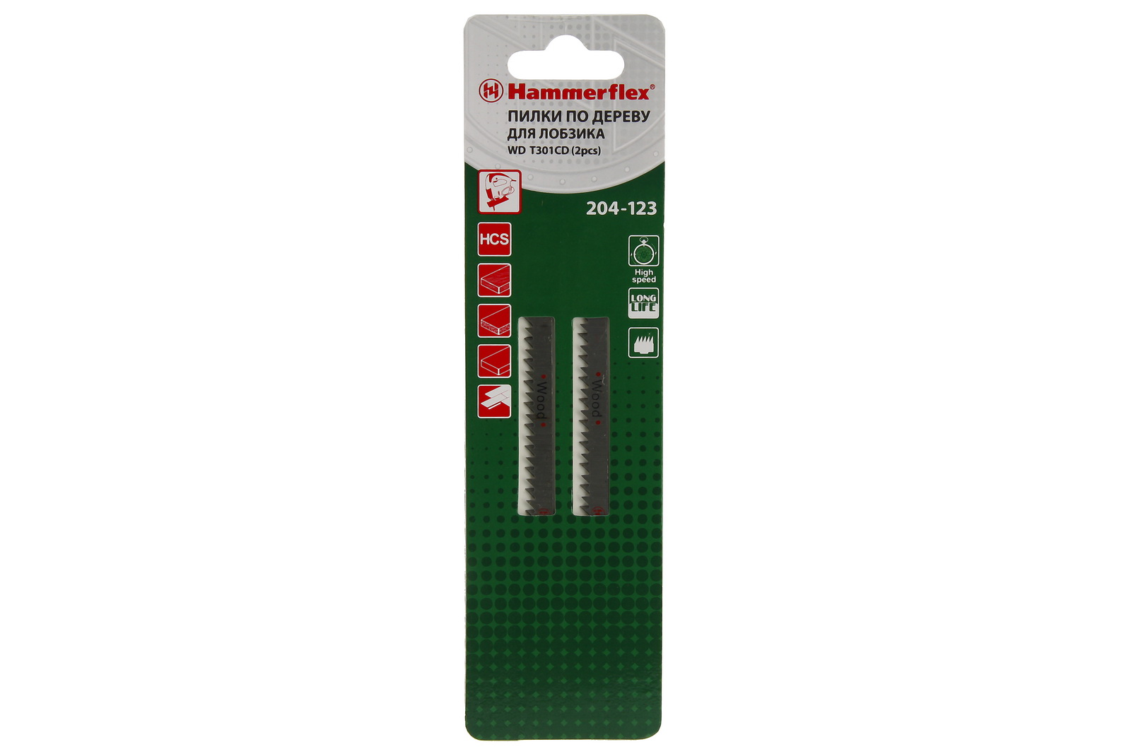 Пилки для лобзика Hammer 204-123 jg wd t301cd (2 шт.) пилки для лобзика hammer 204 123 jg wd t301cd 2 шт