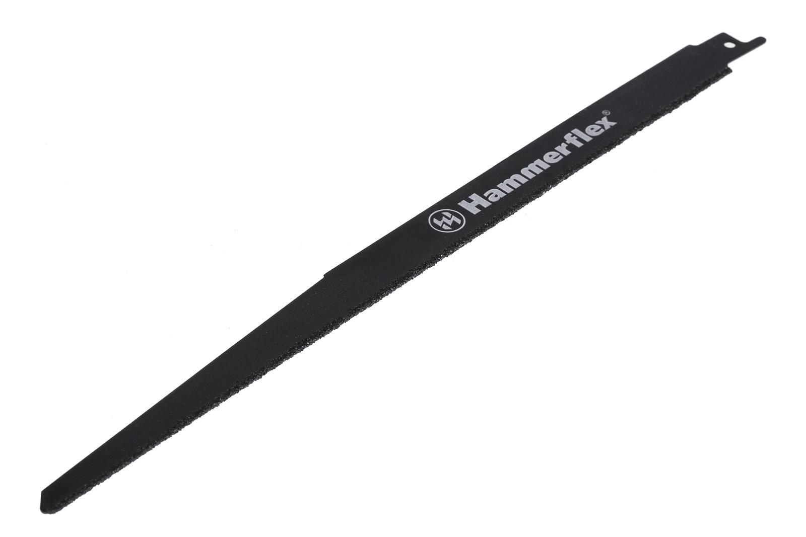 Полотно для сабельной пилы Hammer 225-201 rs bl 201 305х25,4х1.60 мм rg512 g50641 201