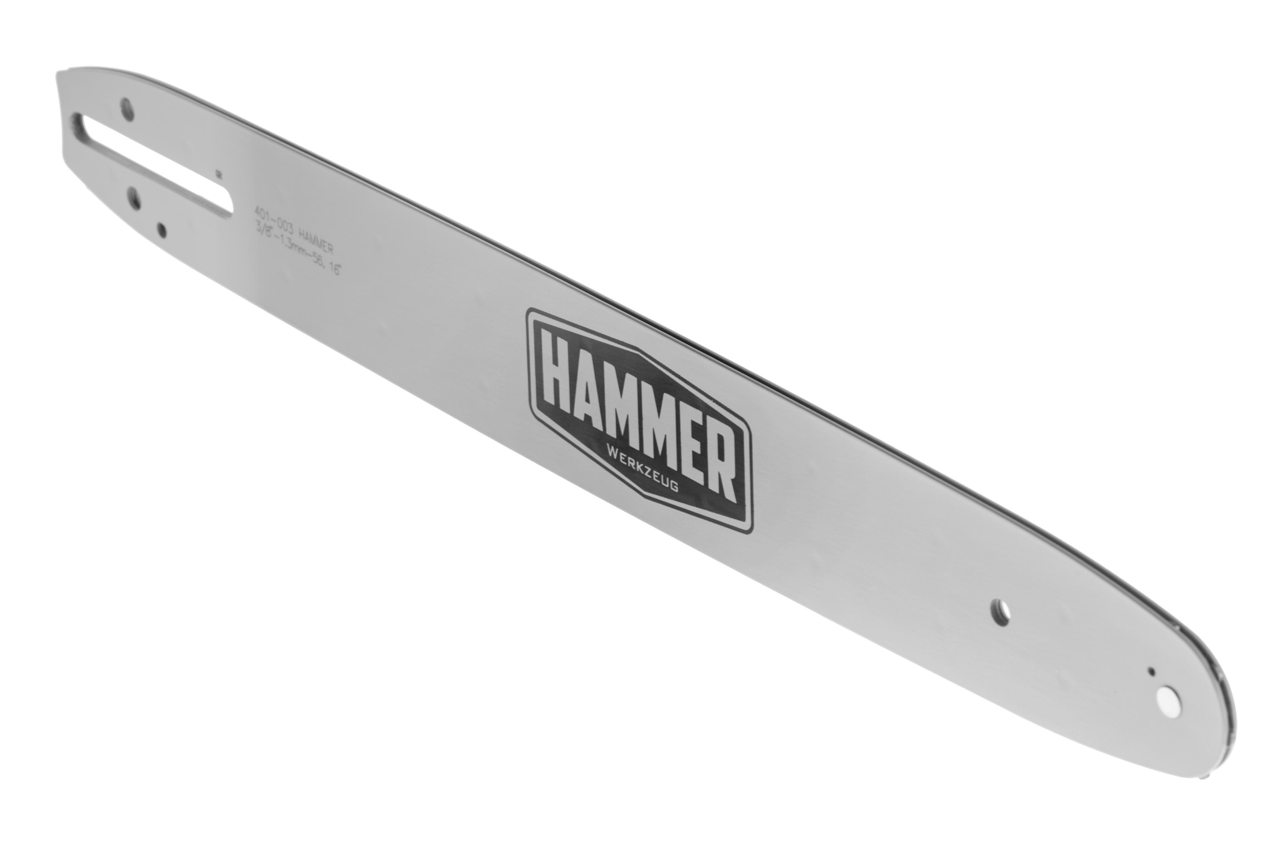 цена на Шина цепной пилы Hammer 401-003 3/8''-1,3 мм-56, 16 дюймов