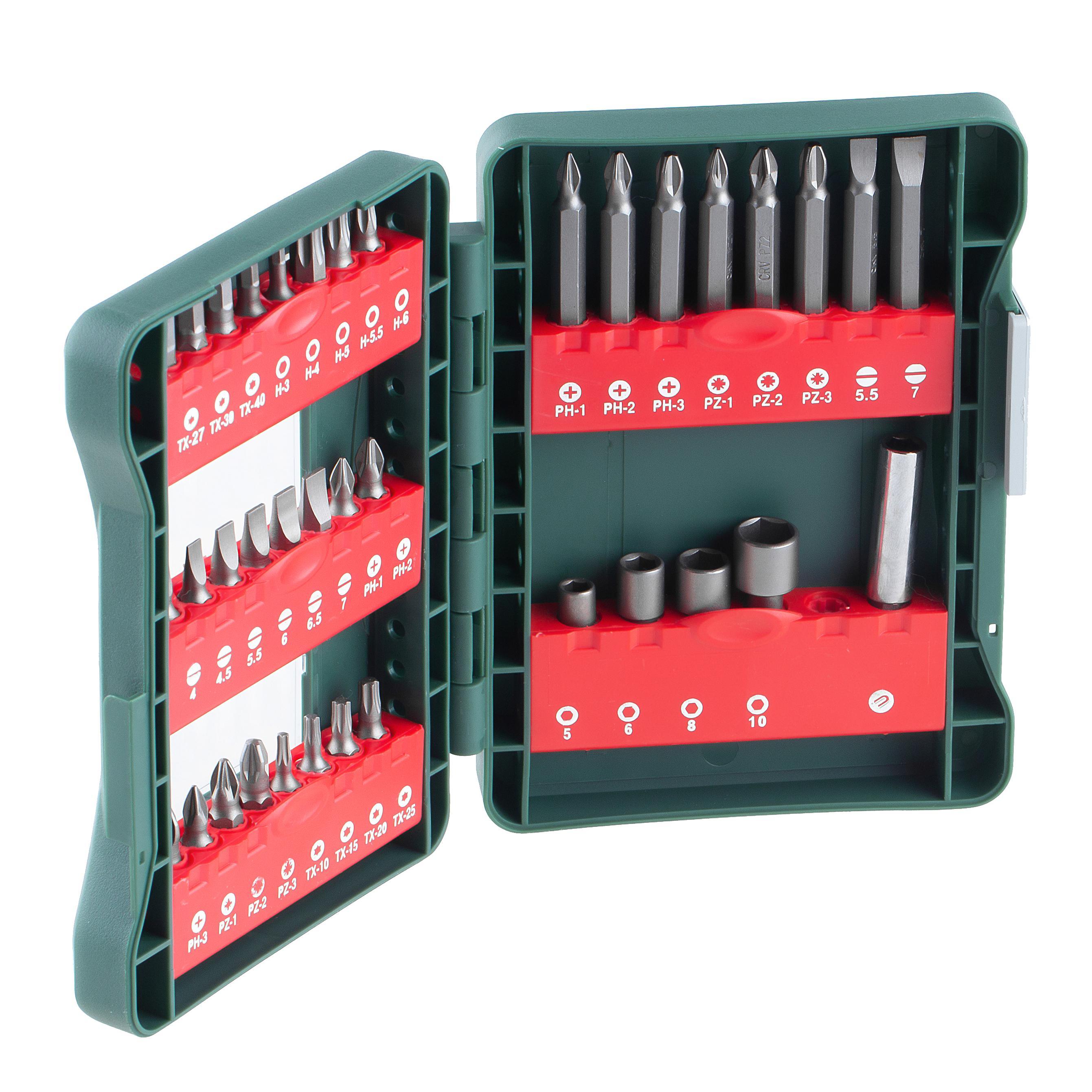 Набор бит Hammer Dr набор no20 37шт. набор буров hammer dr sds набор no2 6шт