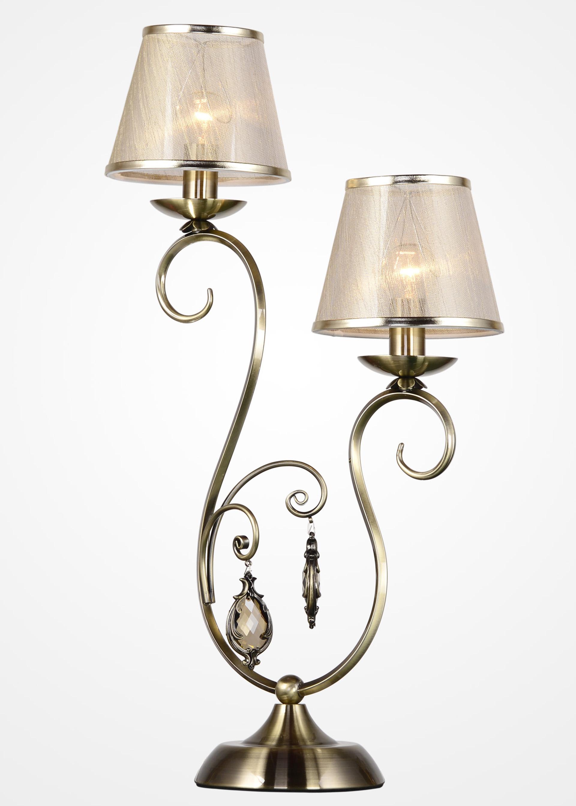Лампа настольная Rivoli Molto t2 ab tatanice t2 напольного светильник фары рыболовной лампы третьих передач зумирование ночного дом зарядки лампа лампа прожектор