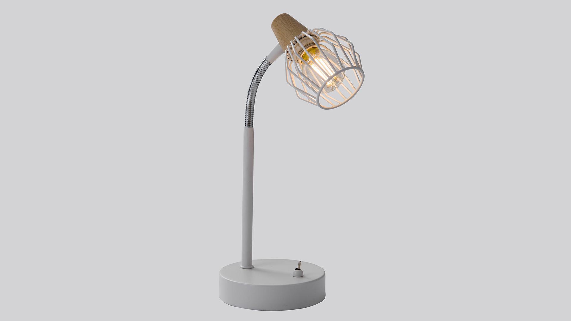Лампа настольная Rivoli Naturale t1 wt стоимость