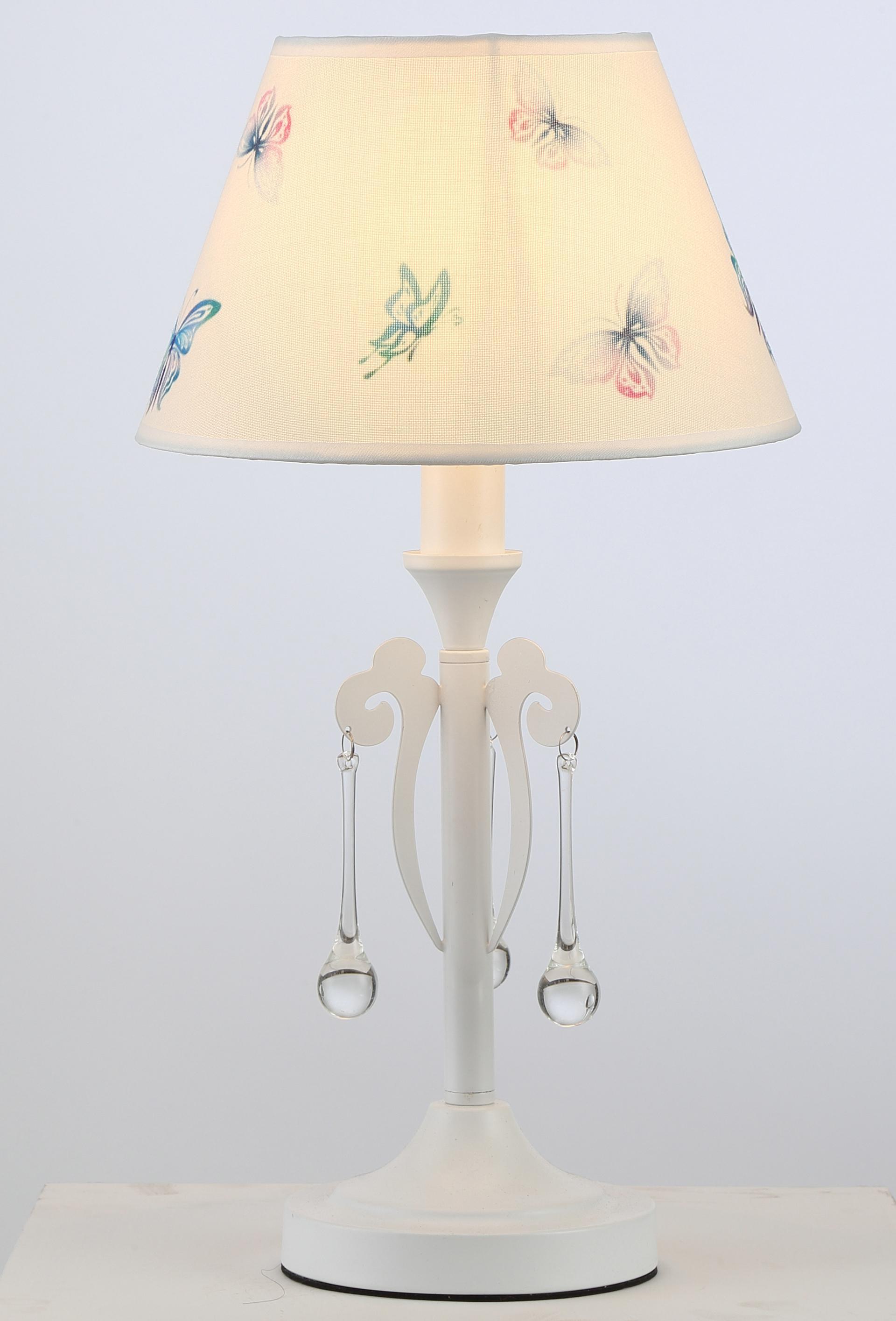 Лампа настольная Rivoli Barbara f1 wt