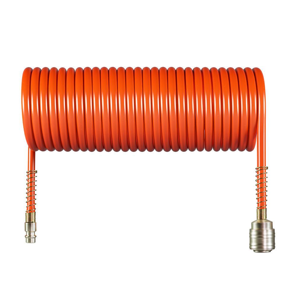 Шланг спиральный для пневмоинструмента Foxweld Aero 5774