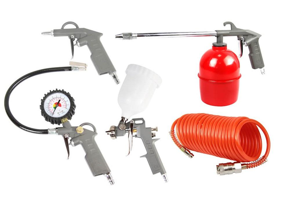 цена на Набор пневмоинструмента Foxweld Aero 5741