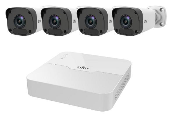 Фото - Комплект видеонаблюдения Uniview Kit/301-04lb-p4/4*2122lr3-pf40-d видео