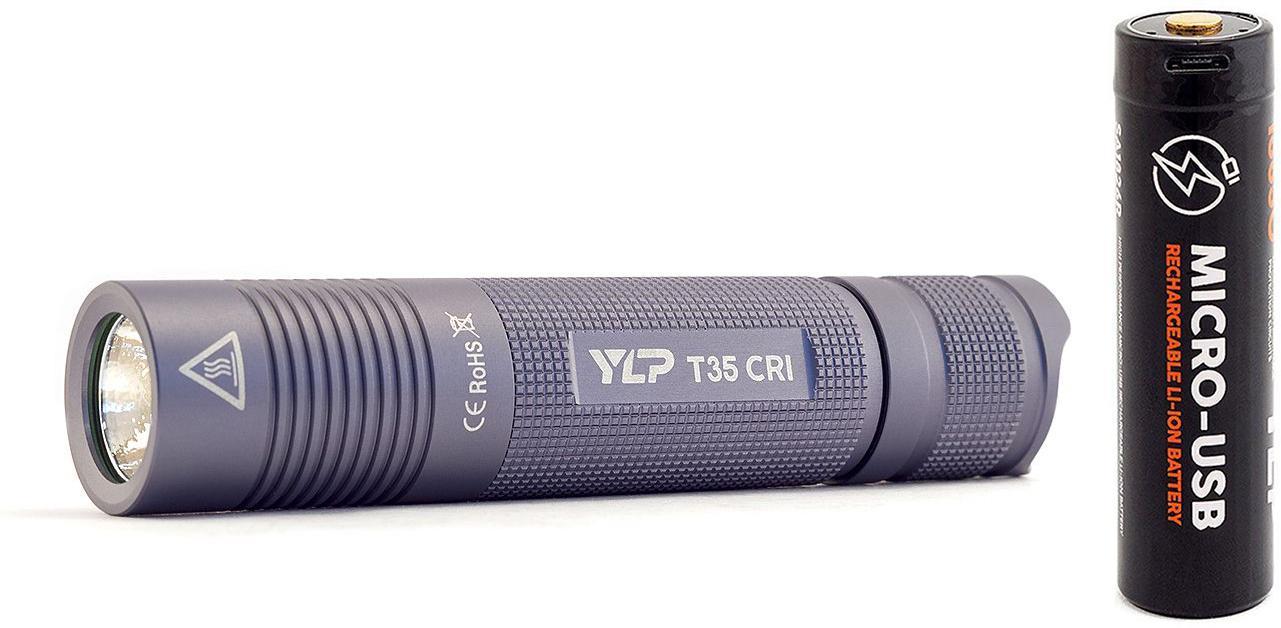 Фото - Набор ЯРКИЙ ЛУЧ Фонарь ylp escort t35cri +Аккумулятор ylp sa1826 внешний аккумулятор pb14x black 14000 мач