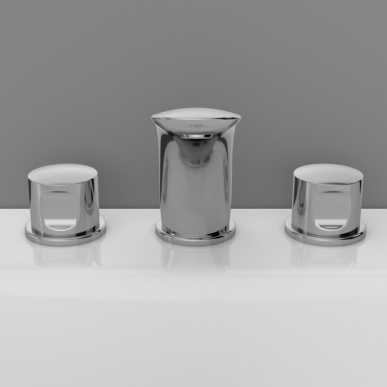 Смеситель Am pm F3008000 смеситель для умывальника раковины коллекция sensation f3008000 двухвентельный хром am pm ам пм
