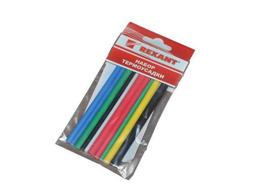 Набор REXANT Ф3/1.5-6/3мм 10см разноцветные (29-0101)