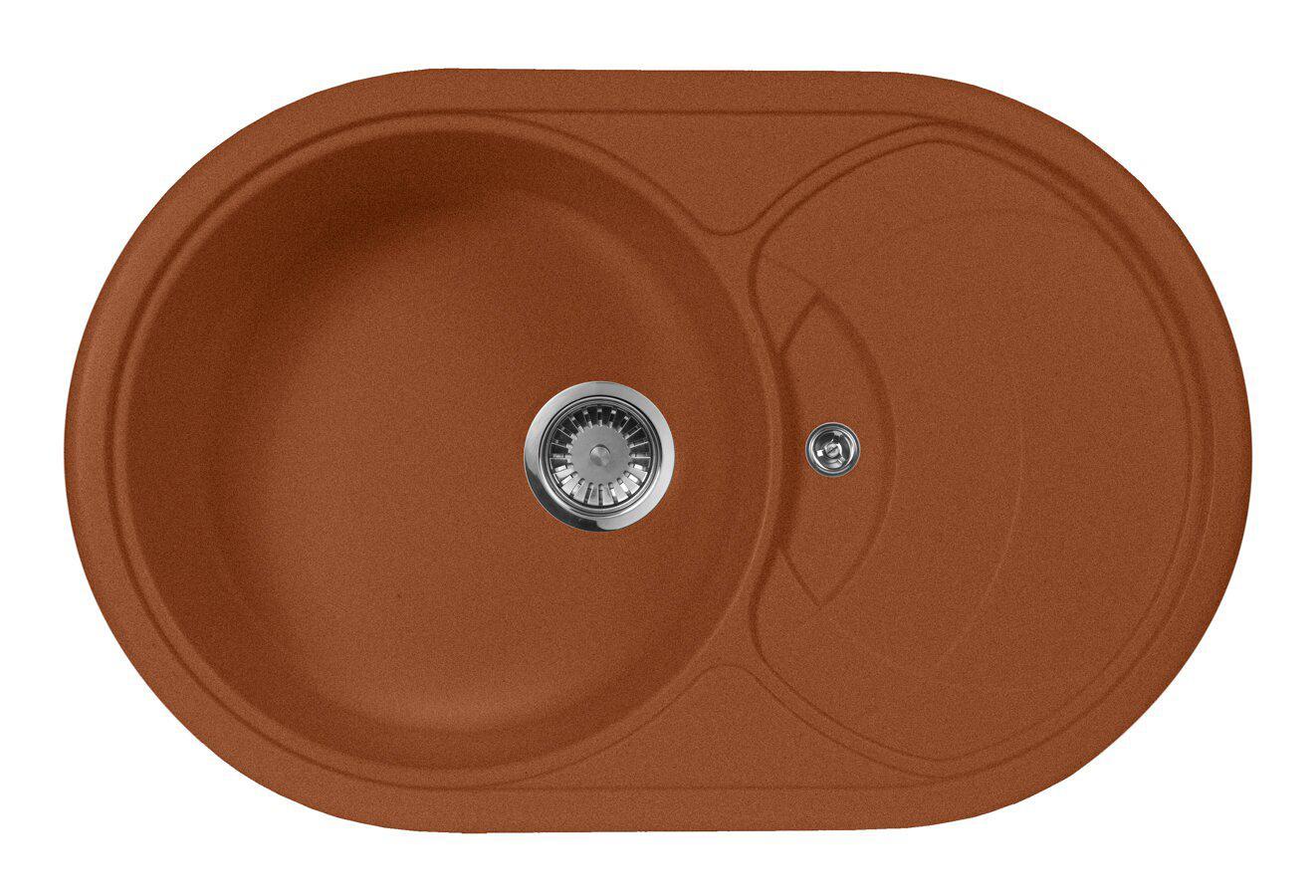 Мойка кухонная Aquagranitex M-18s (307)