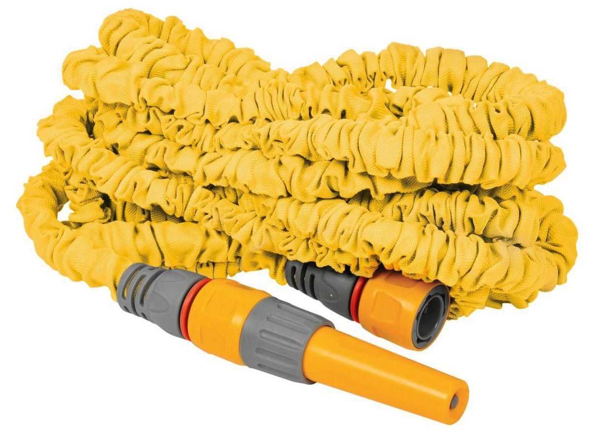Шланг Hozelock 8230 superhoze gess шланг для полива саморастягивающийся gusse 2 5 метра удлиняется до 7 5