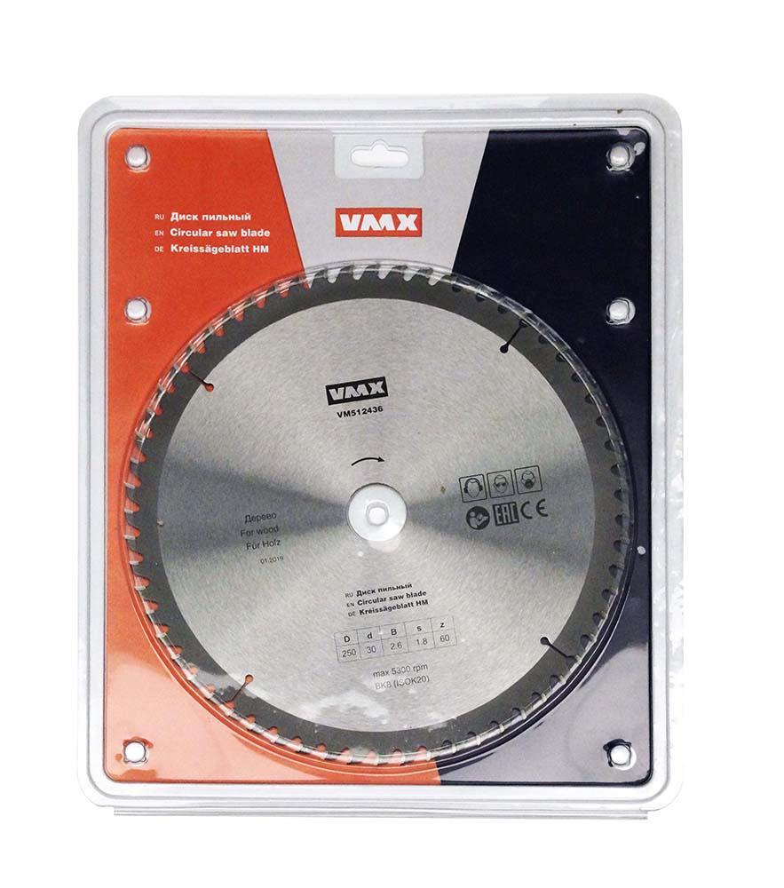 Диск пильный Vmx 512436