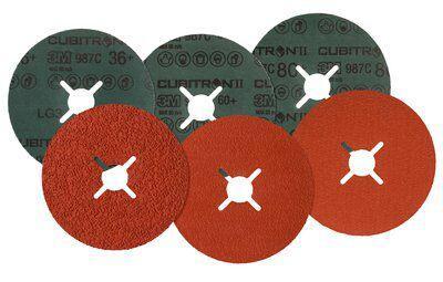 Круг фибровый 3М Cubitron ii № 27646 круг лепестковый торцевой 3м 967a 65055 125х22мм 60 cubitron – ii конически