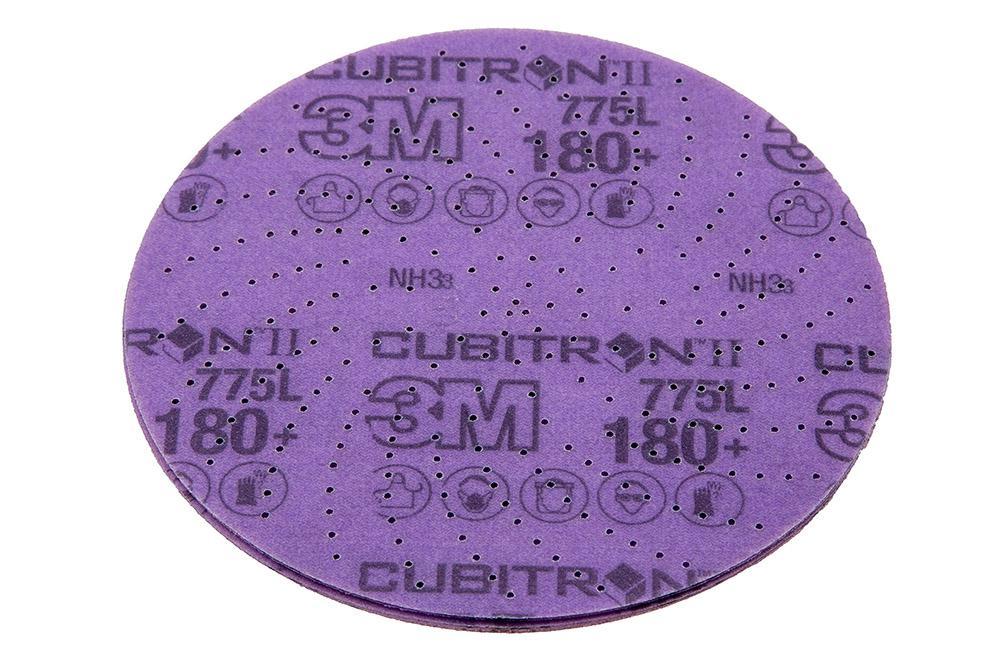 Круг шлифовальный 3М Cubitron ii hookit 775l 64265 круг лепестковый торцевой 3м 967a 65055 125х22мм 60 cubitron – ii конически