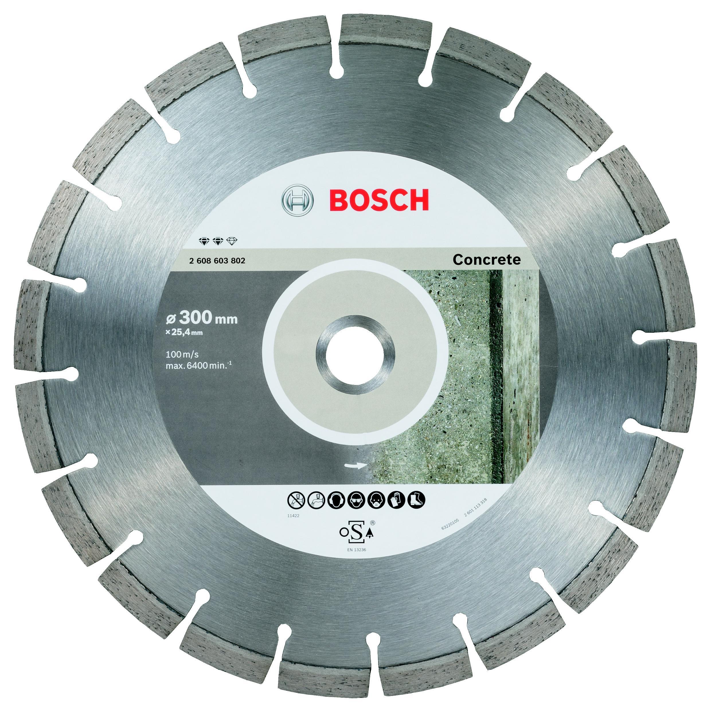 Круг алмазный Bosch 2608603802 expert for concrete недорго, оригинальная цена