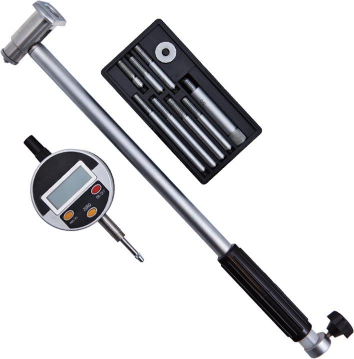 Нутромер Griff цифровой НИЦ160-250 0,001 (пр-во guilin measuring) d130029