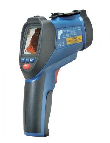 Термометр лазерный с камерой Cem Dt-9860 инфракрасный с камерой хуа шенгчанг сем dt 968 мониторинг качества воздуха в помещении приборов лазерного бытового рм2 5 тест мутности инструмент