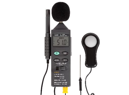 Измеритель уровня шума CEM DT-8820 (Шумомер Люксметр Влагомер Термометр)