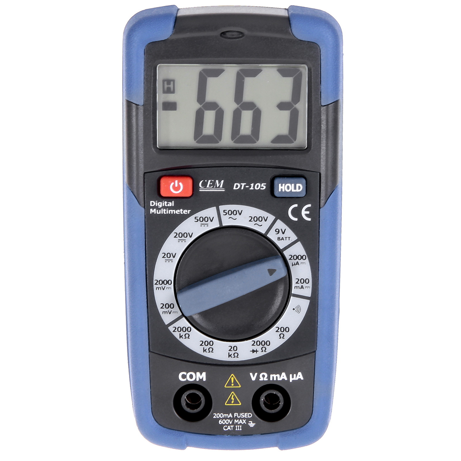 Мультиметр цифровой Cem Dt-105 цифровой