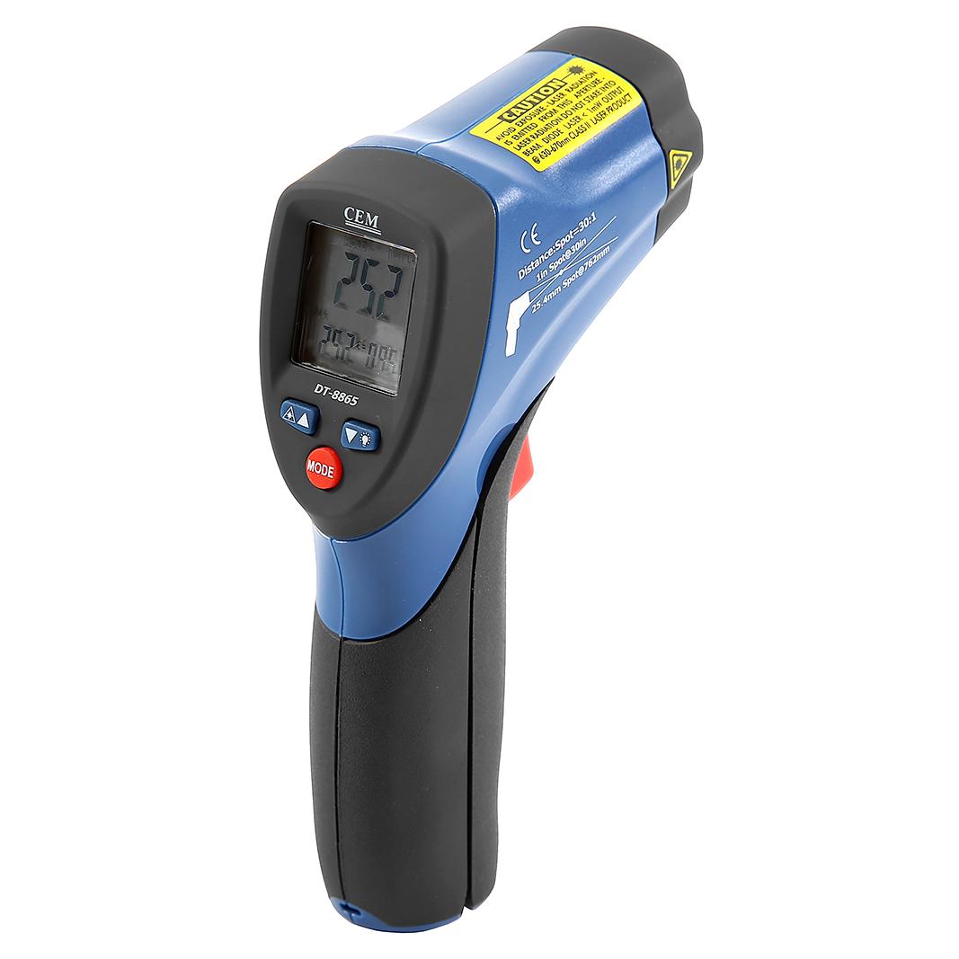 Фото 3/3 DT-8865, Пирометр, инфракрасный бесконтактный термометр