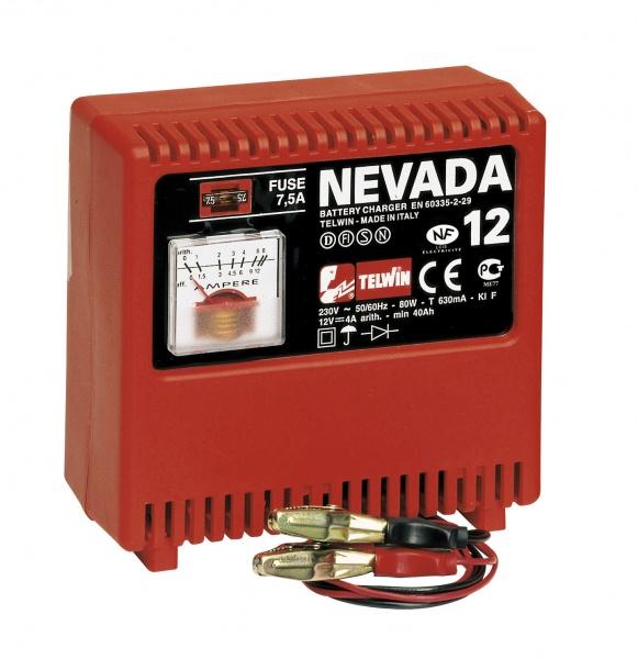 ...MTC 8033-631-50-83.Зарядное устройство TELWIN Nevada 12Зарядное устройство для 12 В аккумуляторов WET (на...