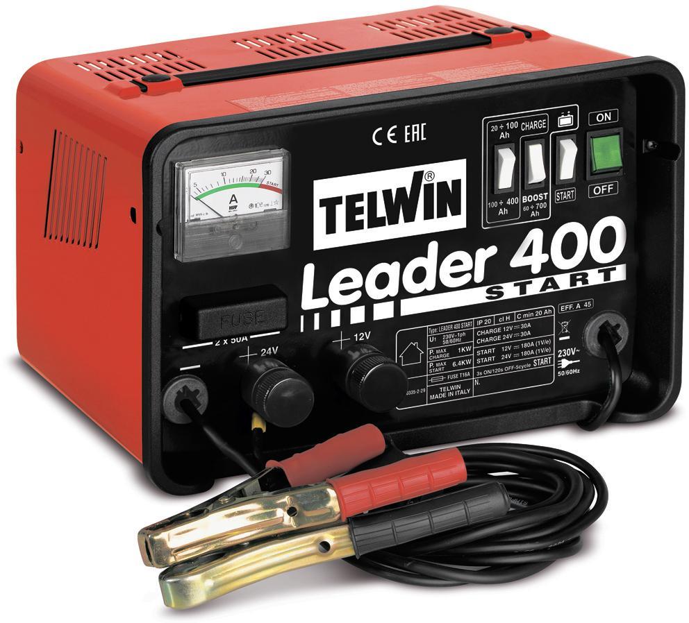 Устройство пуско-зарядное Telwin Leader 400 start устройство пуско зарядное telwin dynamic 420 start