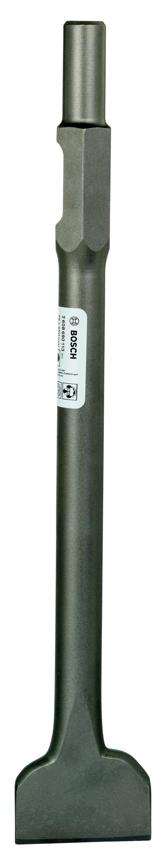Купить Зубило Bosch Hex30 75x450 лопаточное (2.608.690.113), Германия