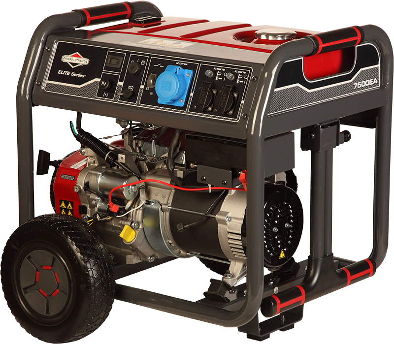 Бензиновый генератор Briggs & stratton 7500ea elite бензиновый
