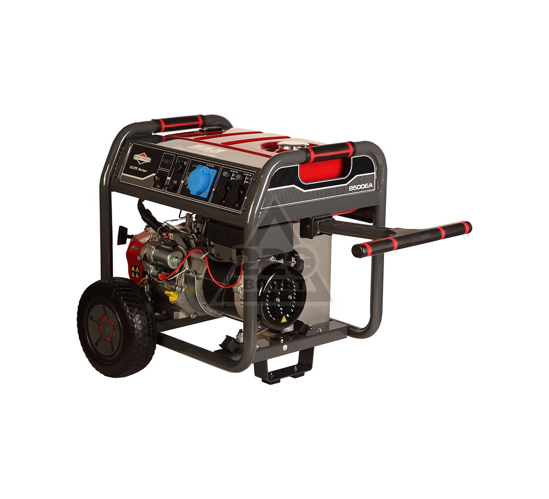 Бензиновый генератор BRIGGS & STRATTON 8500EA Elite бензиновый