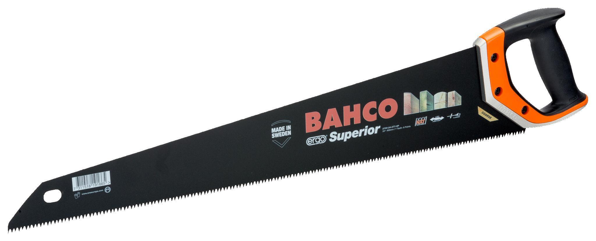 Ножовка по дереву Bahco 2700-24-xt7-hp ножовка bahco 2500 22 xt hp