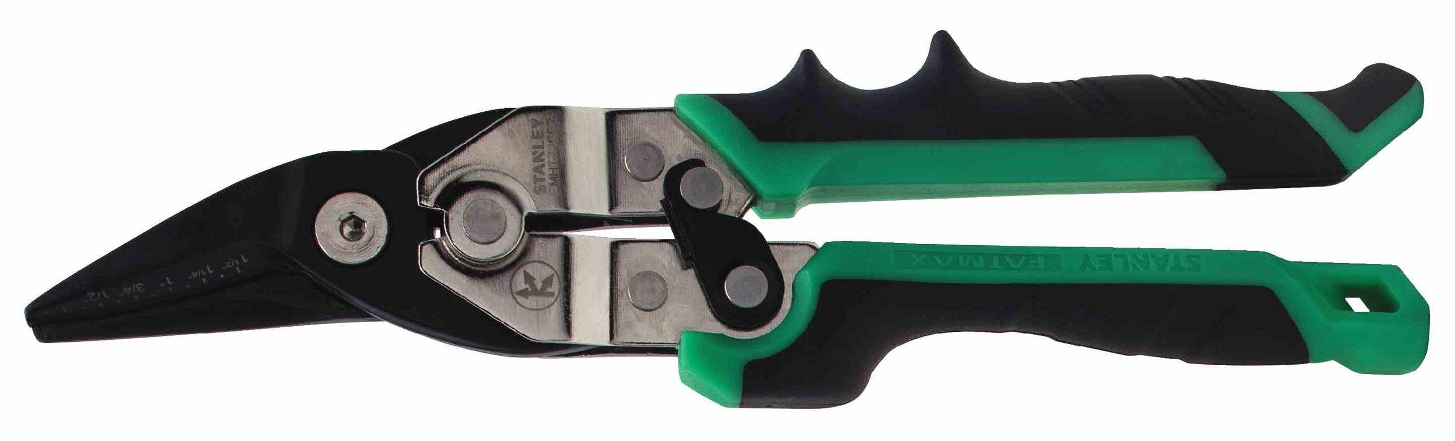 Ножницы по металлу Stanley Fatmax ergo fmht73557-0 правые ножницы по металлу stanley 2 14 564 правые