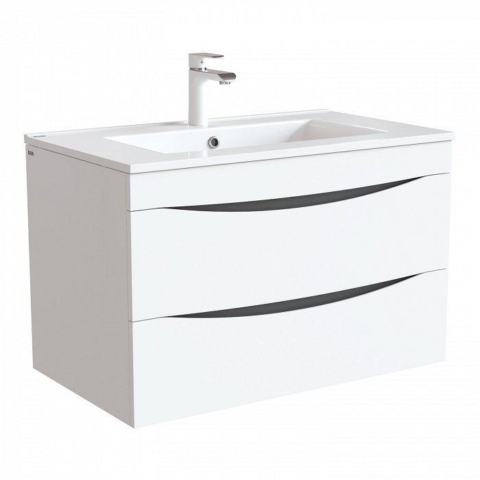 Тумба для ванной комнаты с раковиной Iddis Clo80w0i95k тумба для ванной комнаты с раковиной iddis col90p0i95 0069000i28