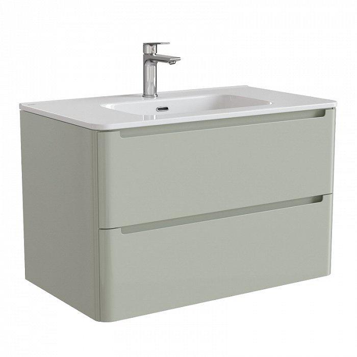 Тумба для ванной комнаты с раковиной Iddis Edi80g0i95k
