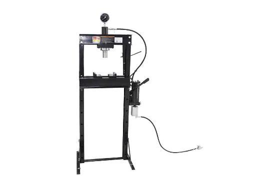 Пресс гидравлический 20т WIEDERKRAFT WDK-HP201, с пневмоприводом