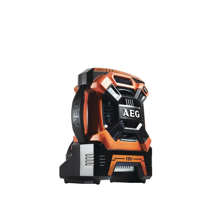 Радио Aeg Br 18c-0 аккумулятор aeg l1260 4932459181