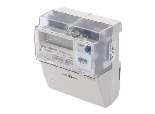 Счетчик электроэнергии ЭНЕРГОМЕРА 459547 СЕ 102 R5.1 145 J 1ф 5-60А (многотарифный, однофазный)