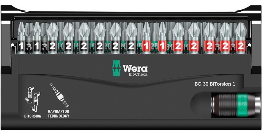 Набор бит Wera We-057430 цена в Москве и Питере