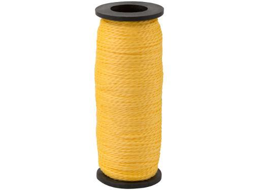 Шнур разметочный 1,5 мм х 50 м КУРС 04712 (капроновый, жёлтый)