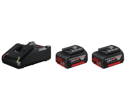 Набор аккумуляторов и ЗУ BOSCH 18В 4Ач Li-Ion (1600A019S0)
