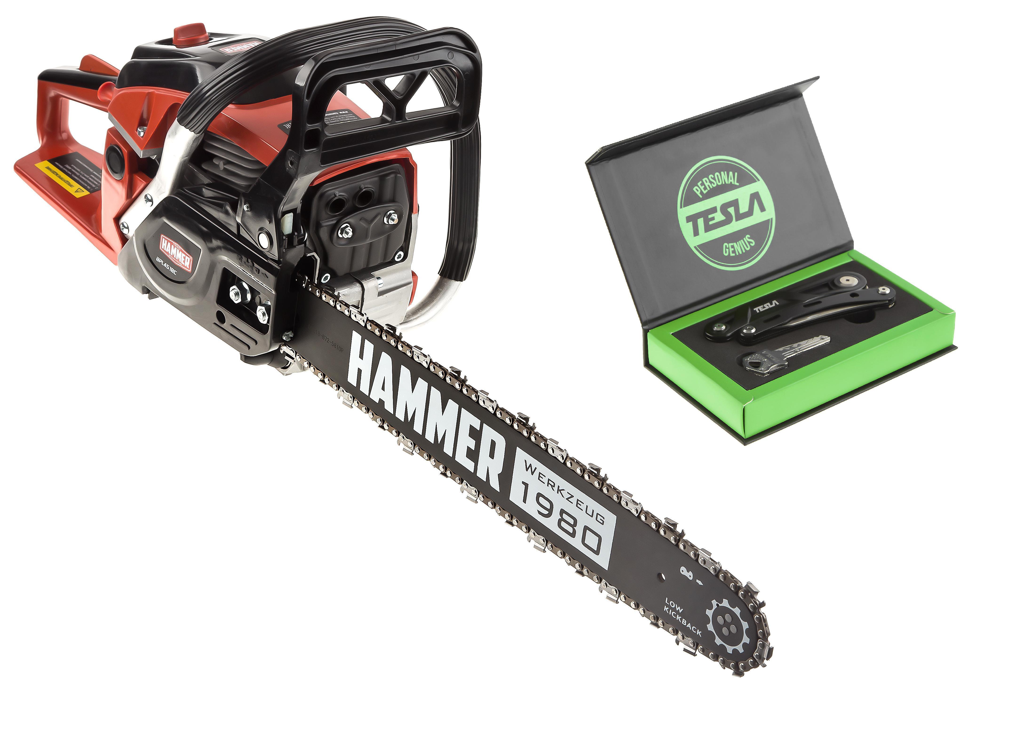 Набор Hammer Бензопила bpl4518c +Мультитул МТ-06 цена и фото