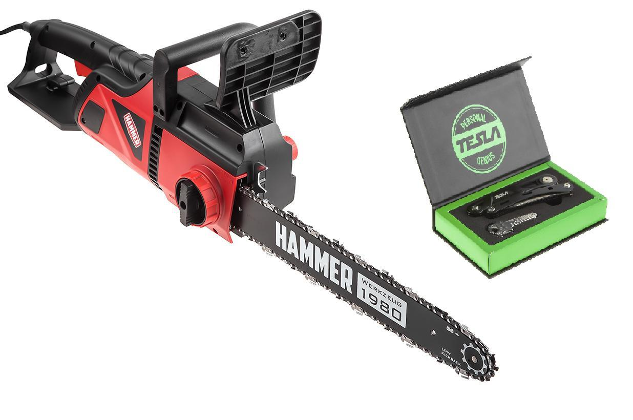 Набор Hammer Пила цепная cpp2216e +Мультитул МТ-06 цена и фото