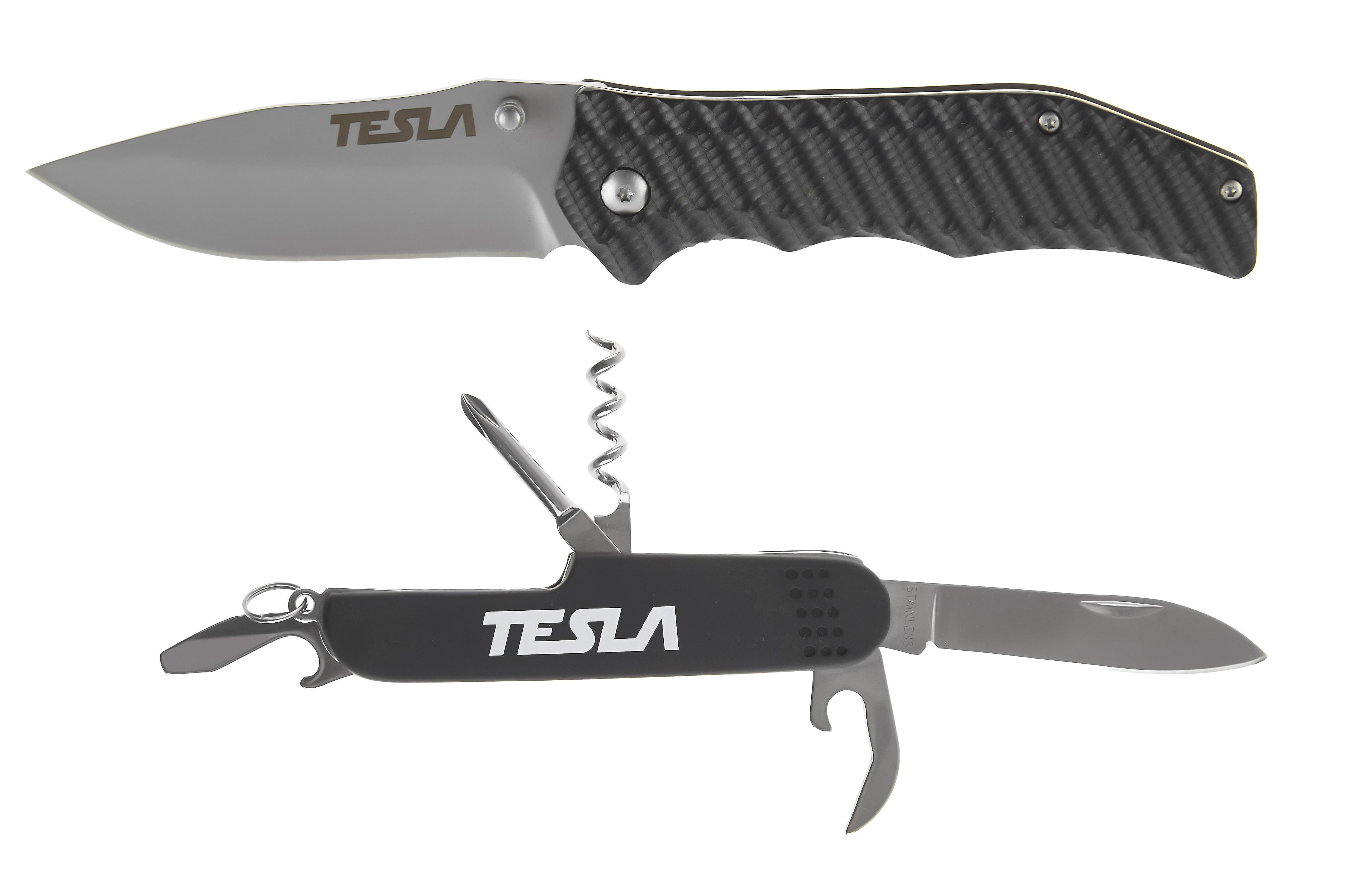 Набор Tesla Нож kf-02 +Нож km-02