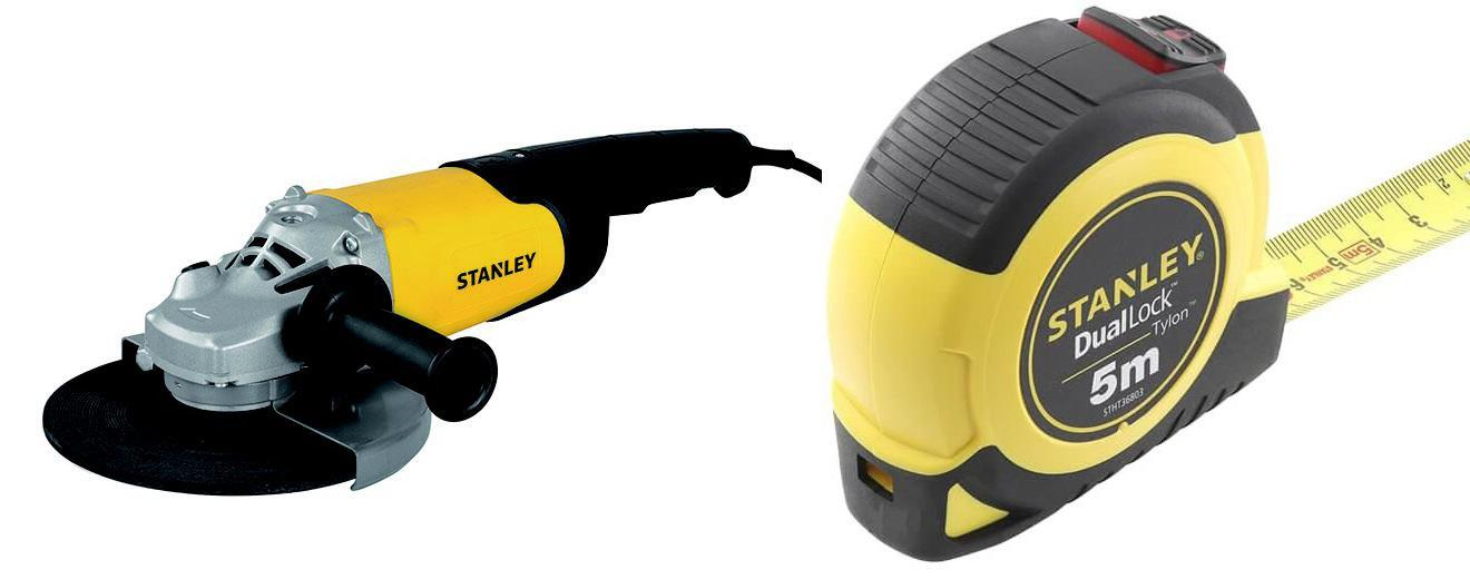Набор Stanley УШМ (болгарка) stgl2223-b9 +Рулетка stht36803-0 набор stanley ушм болгарка stgs7115 b9 рулетка dwht033662