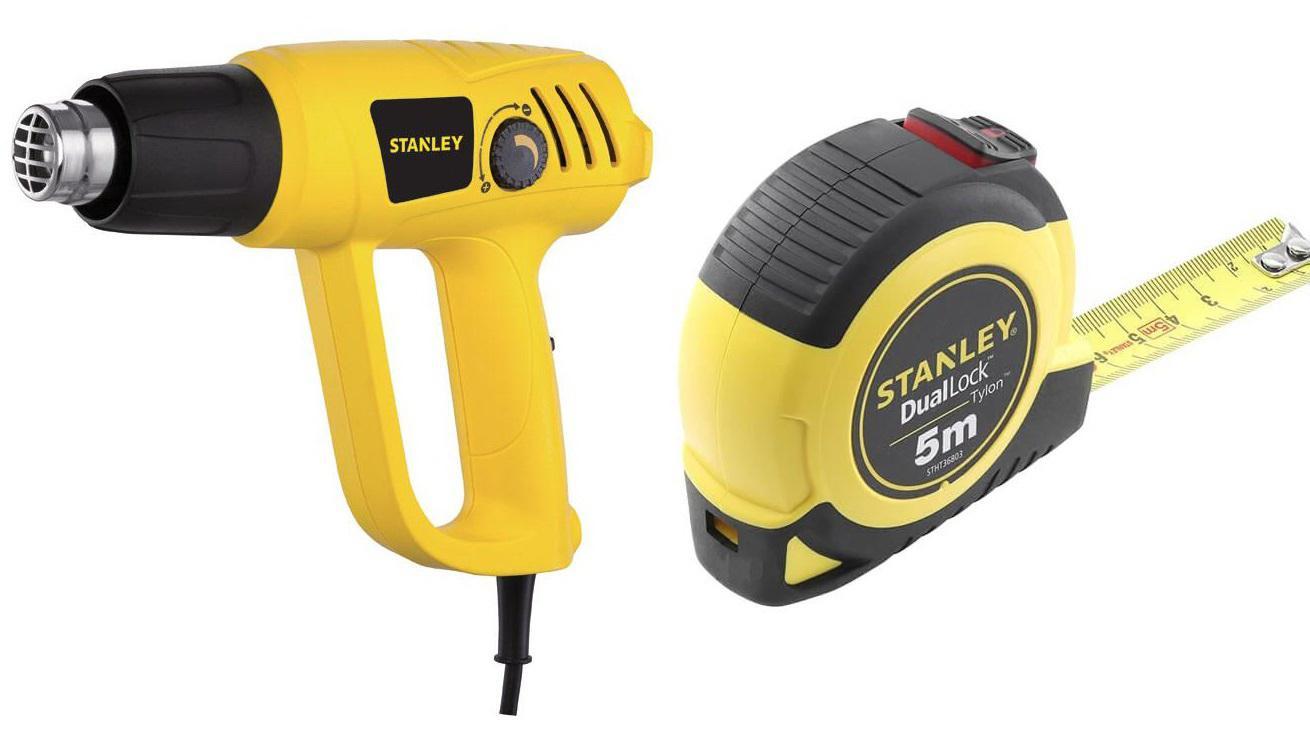 Набор Stanley Фен stxh2000-b9 +Рулетка stht36803-0 набор stanley ушм болгарка stgs7115 b9 рулетка dwht033662