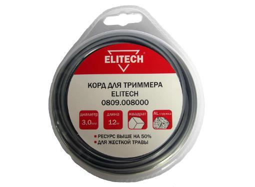 Леска для триммеров ELITECH 0809.008000