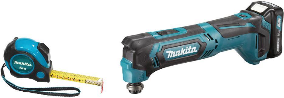 Набор Makita Реноватор tm30dz +Рулетка pgc-80520 мультитул реноватор makita tm3000cx2